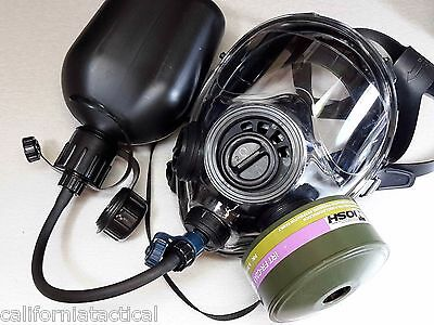 40mm NATO Gas Mask SGE INFINITY w/Drink System & CBRN Approved Filter xd 06/2024