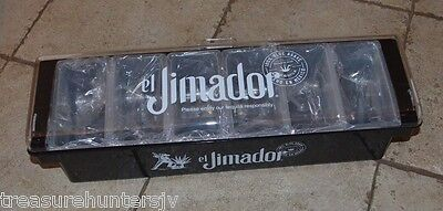 El Jimador Bar Fruit Caddy Holder Cherry Lime Lemon Olive