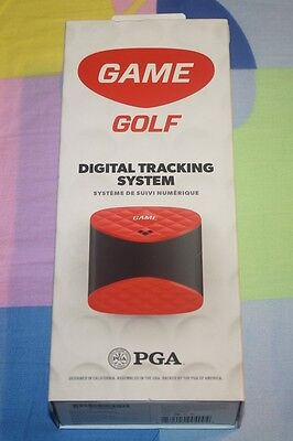 BRAND NEW Game Golf Digital Shot Tracking System, Red/Black