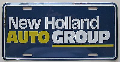 New Holland Auto Group >> New Holland Auto Group Embossed Metal Dealer License Plate