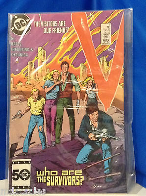 Dc Comics V The Visitors Are Our Friends! Issue 9 Oct. 1985
