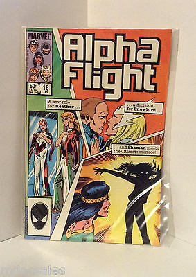 Marvel Comics Alpha Flight No.18 Jan 1985