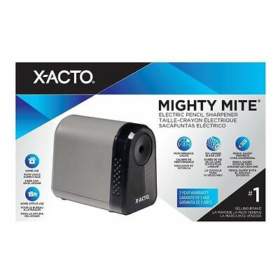 X-ACTO Mighty Mite Electric Pencil Sharpener, Black (W19505Q)