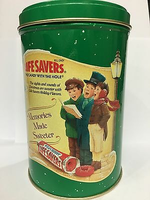 Vintage Limited Edition Life Savers Holiday Keepsake Tin 1990