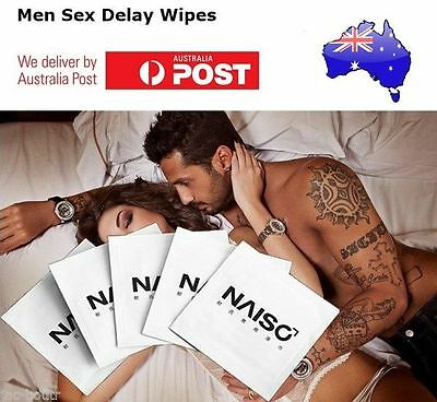NAISO Premature Ejaculation Sex Wipes Stop Delay Prevent Spray Numbing Cream