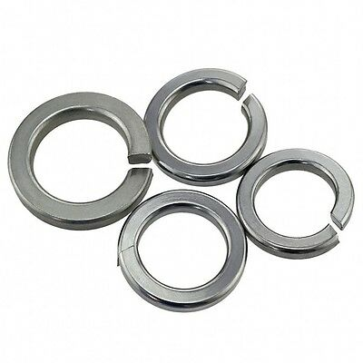 M10 M12 M14 M16 M18 M20 Split Lock Washers Spring Washers A4 316 Stainless Steel