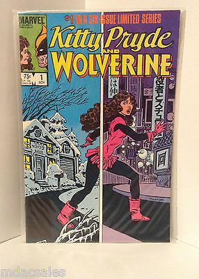 Marvel Comics Kitty Pryde And Wolverine No.1 Nov. 1984