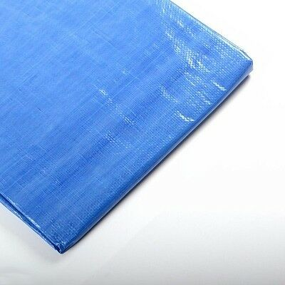 10 x 20 Foot Blue Outdoor Tarp Cover Patio Shade Cover Shade Sun Sunshade Canopy