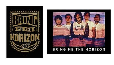 Bring Me The Horizon - Shied / Press Shot - Official Textile Poster Flag