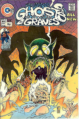 Many Ghosts of Doctor Graves #45 (1974; fn-vf 7.0) Don Newton art