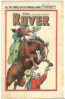 The Rover 1193 (Jan 24, 1948) mid-grade copy with some margin damage