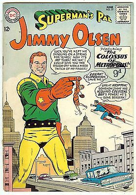 Jimmy Olsen #77 (1964 fn- 5.5) price guide value in this grade: $16.00/£11.00