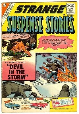 Strange Suspense Stories #50 (Charlton 1960; fn+) 50% off price guide value