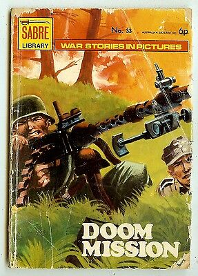 Sabre Picture Library 33:(New English Library, 1972) mid-grade copy