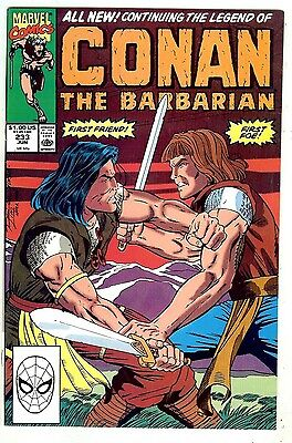 Conan the Barbarian #233 (Marvel 1990, vf 8.0)