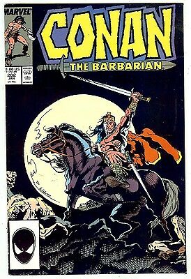 Conan the Barbarian #202 (Marvel 1988, vf+ 8.5)