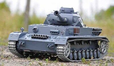 Heng Long Radio Remote Control R/c German Panzer Iv Tank --- 2.4G !!