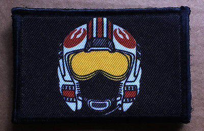 Star Wars X Wing Red 5 Helmet Morale Patch Tactical Military USA Hook Army