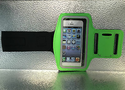 Jogging Running GYM Sport Armband Holder Arm Strap Pouch Case For iPhone 5