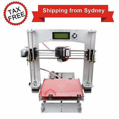 Full Aluminum frame Prusa of I3 with MK8 extruder 3D Printer KIT FREE SHIPPING