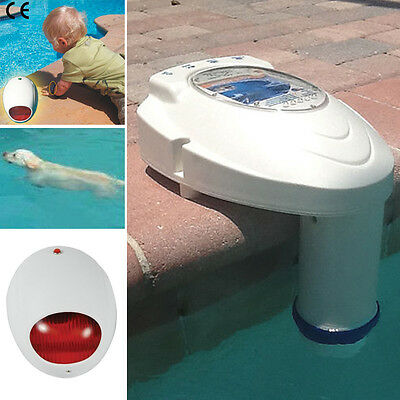 In-Ground Swimming Pool Alarm System Water Safety Alert Protects Children & Pets
