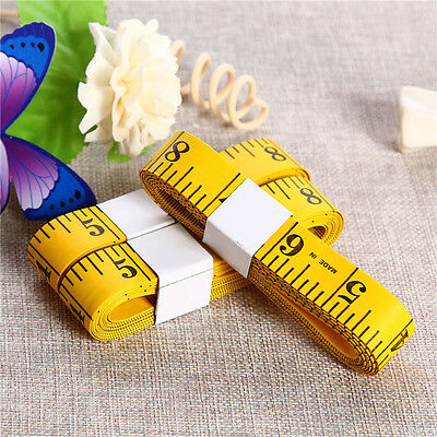 Crafts Tape Measure Yellow Sewing Tailor Tools 3M 300CM 118'' DIY Fashion