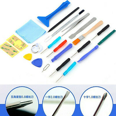 Hot Sale 22 in 1 Mobile Phone Openings Pry Repairs Screw Tools Kit Set For Phone