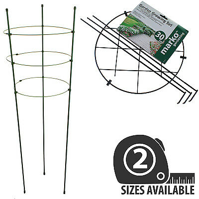 Garden Plant Support Climbing Plants 90Cm Conical 30Cm Round Growing Set
