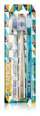 Pack of 3 toothbrushes - CURAPROX CS 5460 ULTRA SOFT ! SPECIAL LIMITED EDITION !
