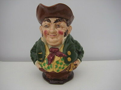Very Rare Vintage Foley Shelley Intarsio Character Toby Jug