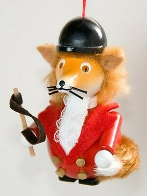 Christian Steinbach Wooden Ornament Master of the Hunt Fox Hunting EXCLUSIVE