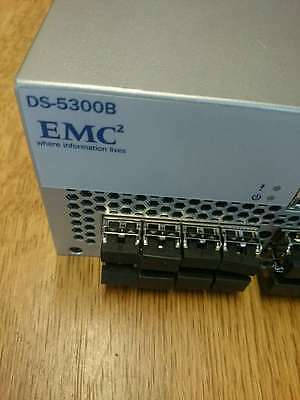 EMC DS-5300B 48 Ports Active/80P 8G Switch 100-652-067 SFP's NOT Included