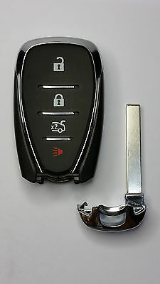2016-2017 Chevy Camaro Malibu Smart Keyless Entry Remote w/ Emergency Key