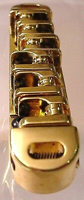 Gold Wilkinson Roller Bridge For Electric Guitar