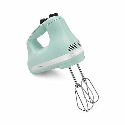 KitchenAid KHM512GA 5-Speed Hand Mixer, Ice Blue
