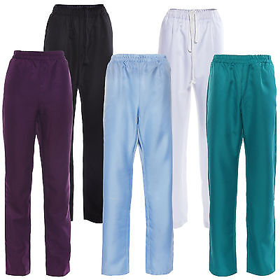 Medical Nursing Men Women Scrub Trousers Pants Hospital Clinic Uniform