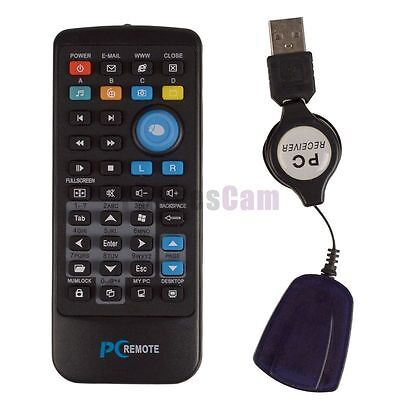 New Windows Wireless Mouse USB PC Laptop Remote Control Media Center Controller