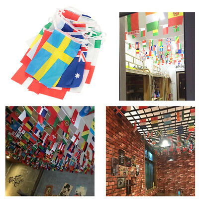 EURO 2016 FOOTBALL BUNTING 8m 24 European Flags Europe Championships