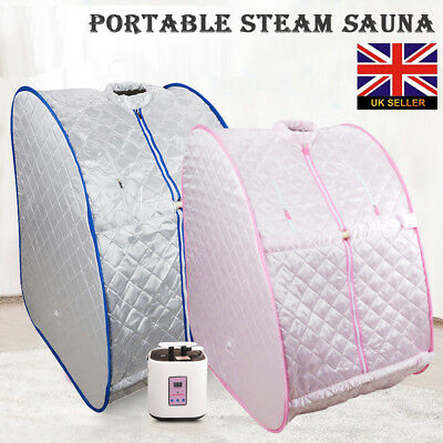 Portable Home Sauna Tent Remote Control Timer Steamer without Head Cover