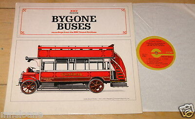 Buygone Buses Recordings From The Bbc Sound Archives Uk Lp 1970 Bus Transport