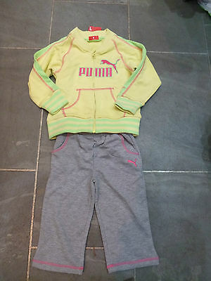 BABY GIRLS  PUMA TRACKSUITS *VARIOUS COLOURS & SIZES*  BRAND NEW WITH TAGS!!6-9m