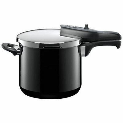 Silit - Black Sicomatic t-plus Pressure Cooker 6.5Ltr (Made in Germany)