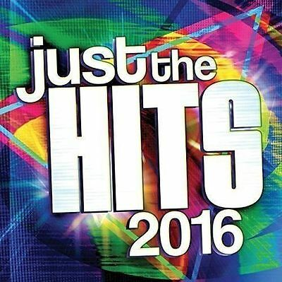 Just The Hits 2016 Audio CD New Sealed