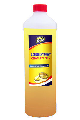 Gold tank plating solution Chamaeleon (250 ml) - Gold plating, gilding