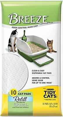 NEW Tidy Cats Breeze Pads  Pack of 10 FREE SHIPPING