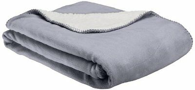 NEW American Kennel Club Pet Throw Gray FREE SHIPPING