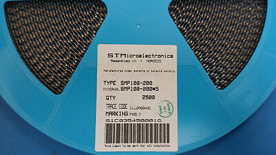(2500) SMP100-200 STMicroelectronics 280V 60A SILICON SURGE PROTECTOR DO-214AA
