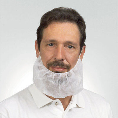 Royal White Latex Free Polypropylene Disposable Beard Protectors, Pack of 100