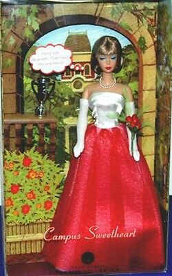 Campus Sweetheart reproduction Mattel Barbie NRFB* Mint