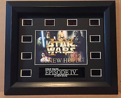 Star Wars A New Hope Framed 35mm Film Cell Display